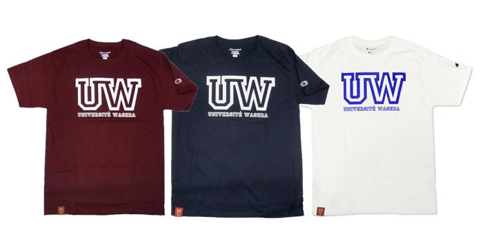 ChampionTシャツ【UWデザイン】