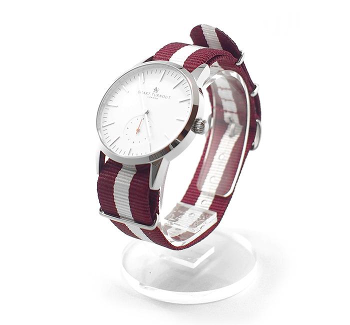 SMART TURNOUTコラボレーション腕時計【WHITE×SILVER】