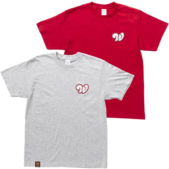 WワッペンTシャツ