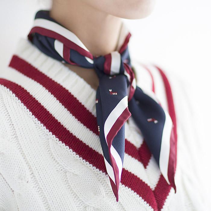 早稲田大学×UNITED ARROWSコラボスカーフ